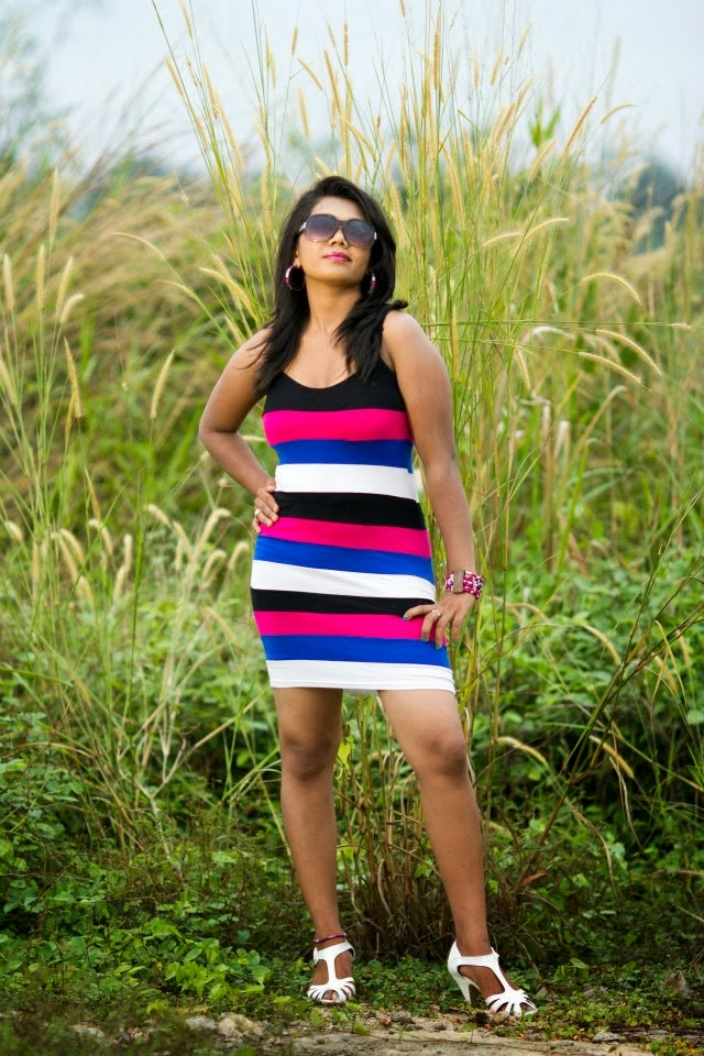 Thilini Handunge spicy mini dress
