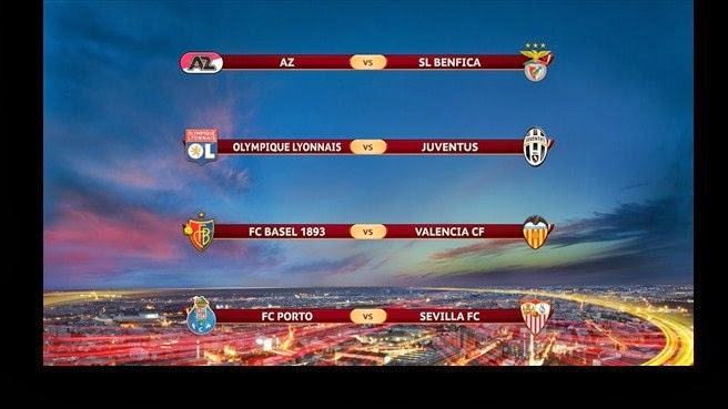 UEFA Europa League-  QuaterFinal Fixture