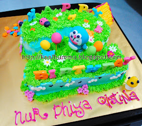 3D Cake Buttercream With Figurines