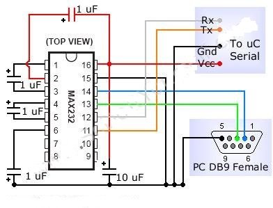 Projects For You 8051 Programmer KitCircuit Diagram 2