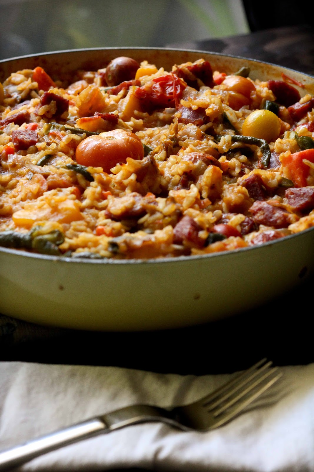 Seafood Paella - Adventures in Cooking