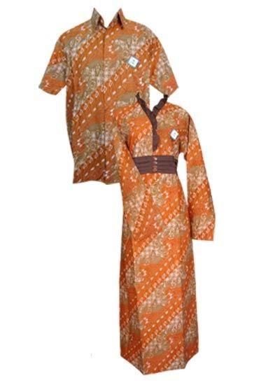 Batik Modern Untuk Muslimah Sarimbit Gamis Batik