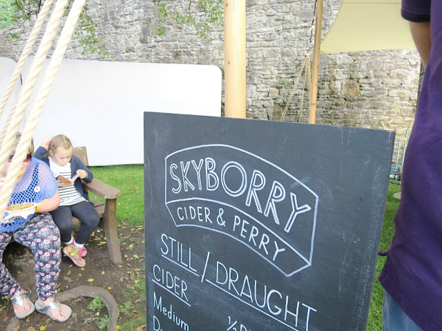 Abergavenny Food Festival Bar Cider Perry Drinks Menu