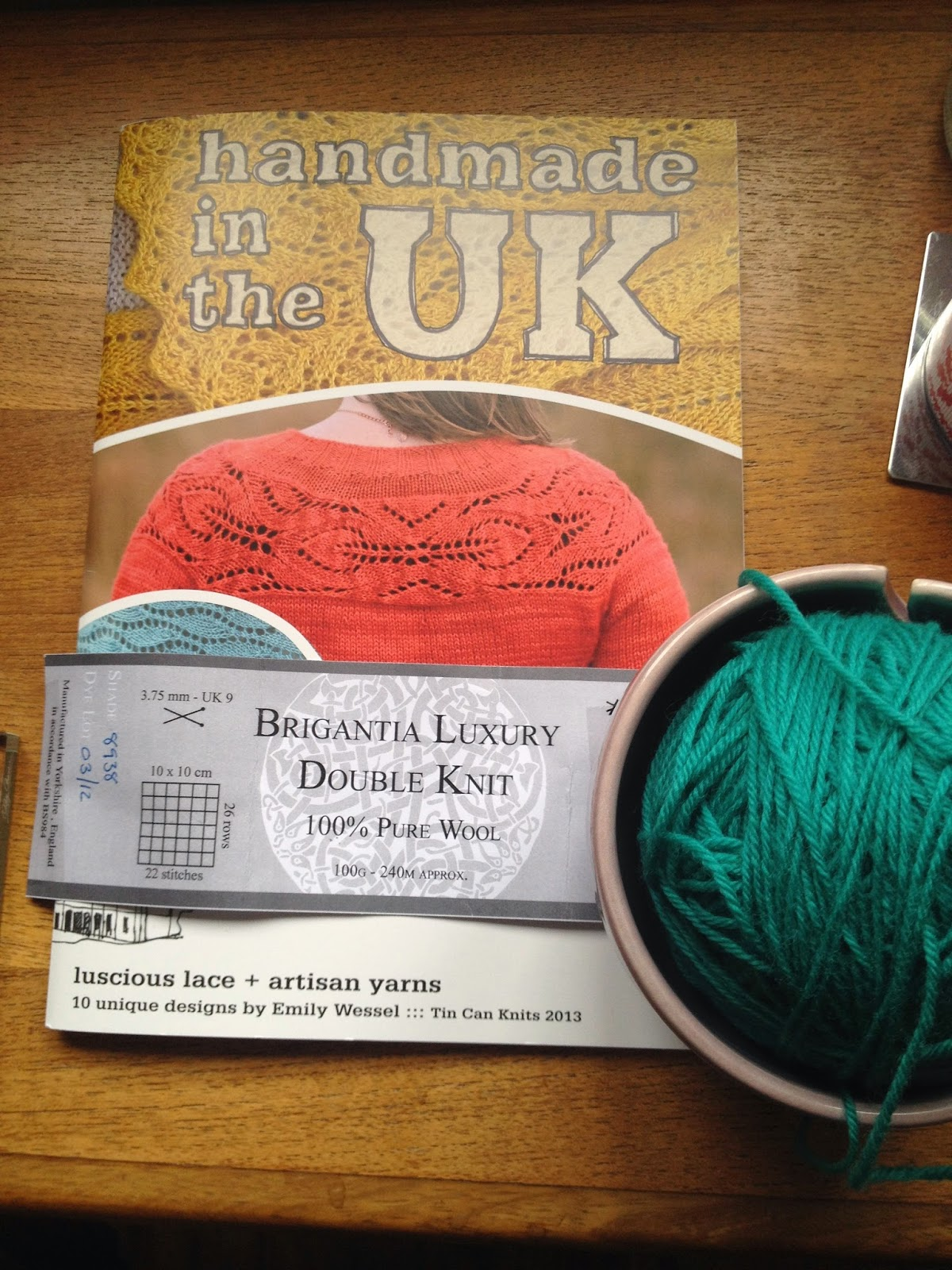 Isla of Axholme blog knitting photo Lush cardigan tin can knits pattern wool