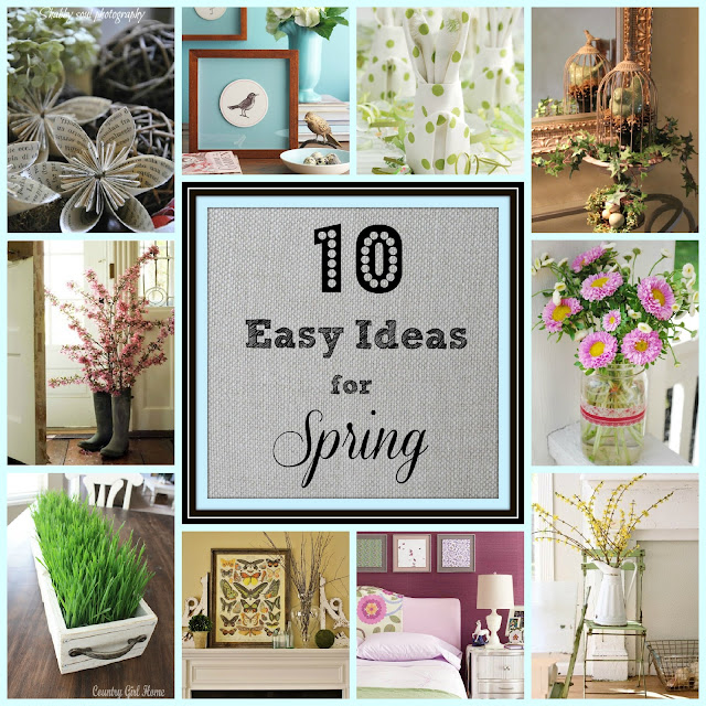 Easy Ideas for Spring via Worthing Court blog