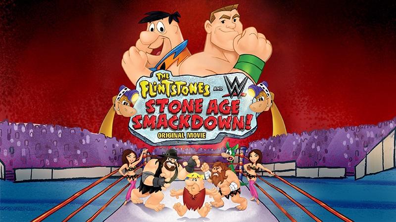 Flintstones, cartoon, WWE, Blu-ray, DVD, giveaway,