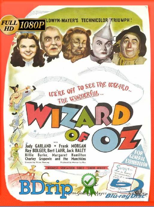 El Mago De Oz (1939) BDRip [1080p] [Latino] [GoogleDrive] [RangerRojo]