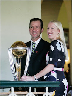 Ricky Ponting Family Photos