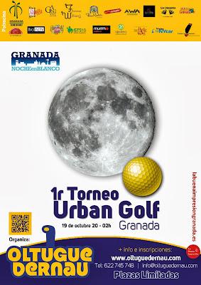 Urban Golf en la Noche Blanca de Granada