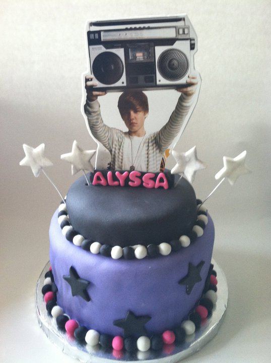 Free Cakes For Kids Killeen Our 31st Cake Justin Beiber For Alyssa