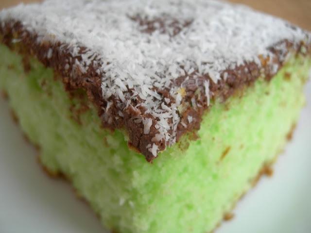 torta cocco menta e nutella