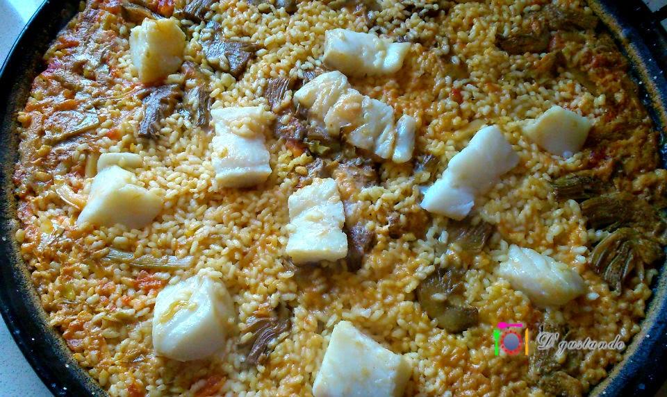 Un arroz seco con el grano prieto y entero