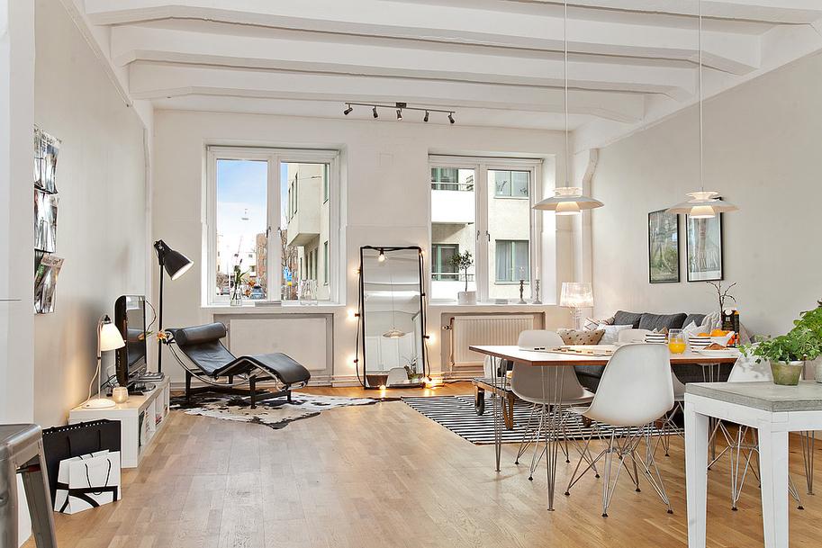 Apartamento nórdico 63 m2, HomePersonalShopper. casa pequeña, decoración nórdica, estilo nórdico, acogedor, planta abierta, decoración