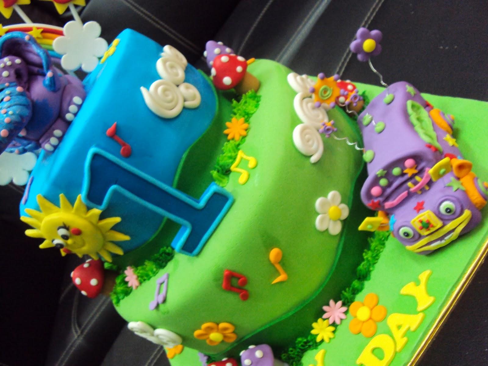 Gigglebellies Cake Decorations