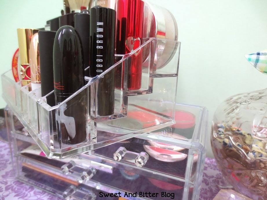 Acrylic Lipstick Stand Display Organiser