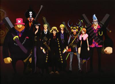 Gambar anime one piece keren