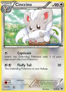 Cinccino Emerging Powers Pokemon Card