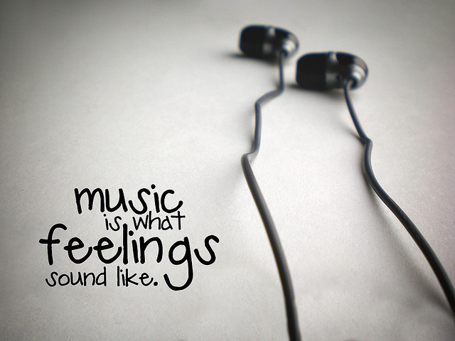 Music is what feelings sound like 1