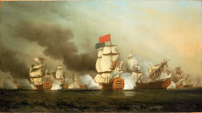 Lord Anson's victory off Cape Finisterre, 2 May 1747