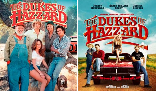The Dukes of Hazzard, serie de televisión y filme