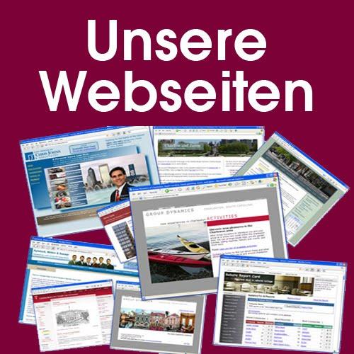 Unsere Webseiten