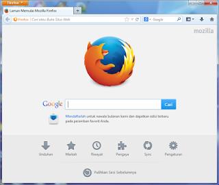 Mozilla Firefox 26.0 Installer Update Terbaru 2014