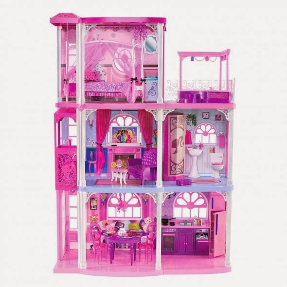 Barbie Size Dollhouse Dollhouse Furniture  Rooms