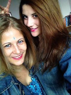 Eu e filha