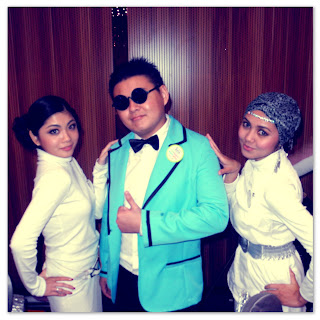 Psy Gangnam costume