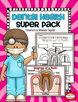 https://www.teacherspayteachers.com/Product/Dental-Health-Super-Pack-Science-and-Literacy-Activities-1103206