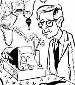 Virgilio Barco en caricatura