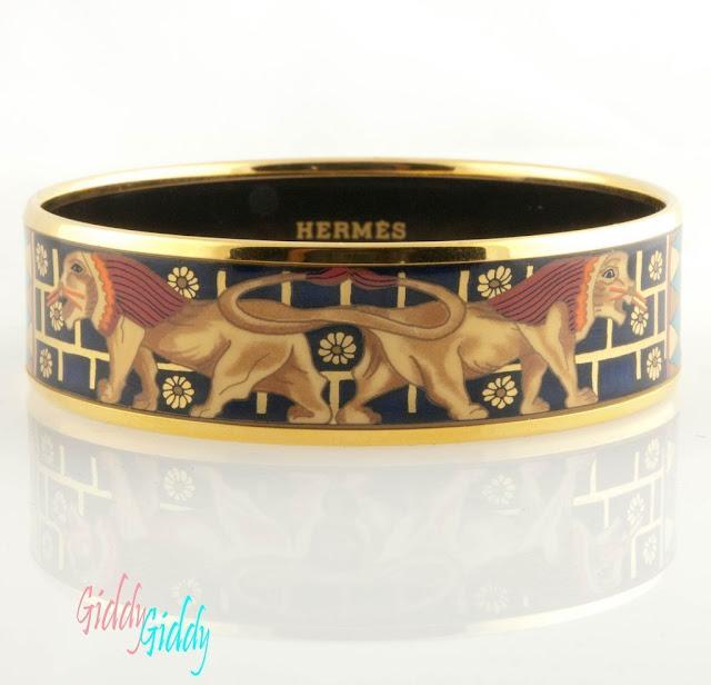 Hermes Bracelet Enamel9