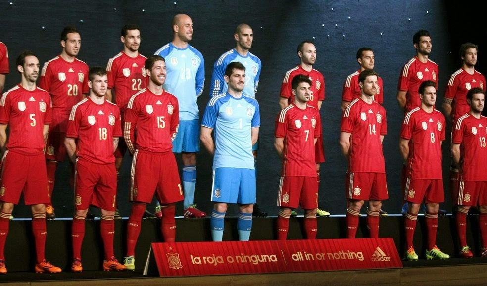 Convocados España al Mundial Brasil 2014