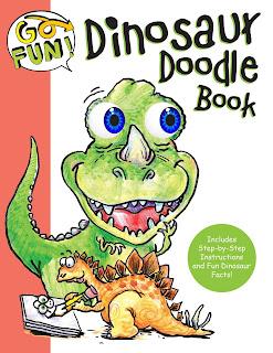 Go Fun! Dinosaur Doodle Book
