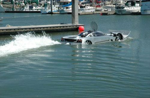 Sea Lion: World's First Amphibious Sports Car