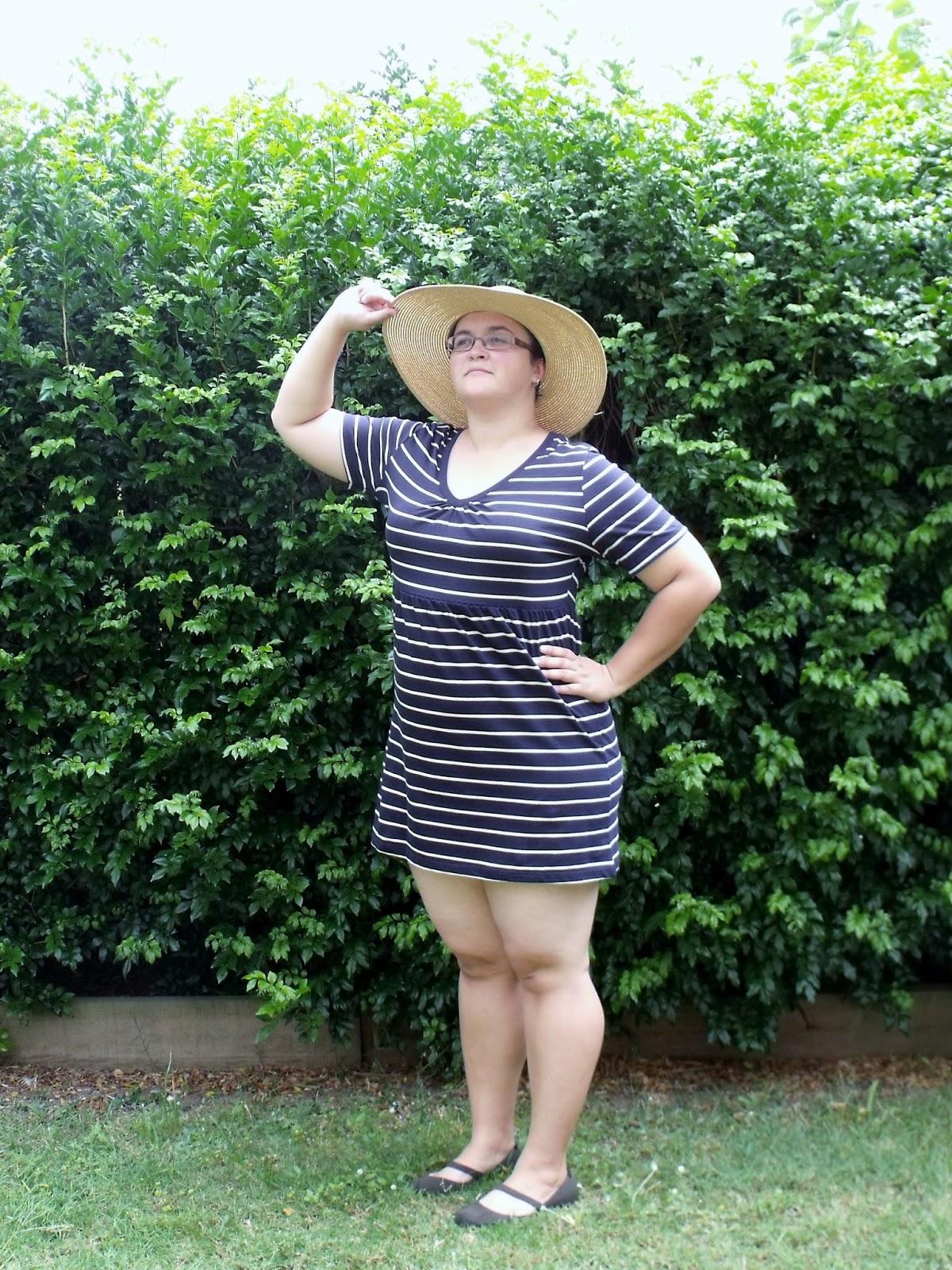 Refashioned Beach Dress