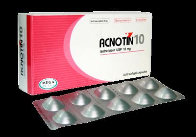 Cách sử dụng thuốc Acnotin 10 trị mụn trứng cá bọc
