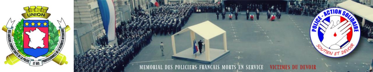 Mémorial des policiers français victimes du devoir
