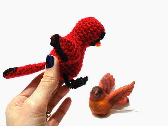 Amigurumi Kiwi Bird Pattern : AllSoCute Amigurumis: Crochet Cardinal Bird, Amigurumi ...