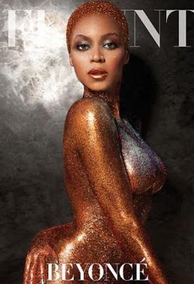 Beyoncé nua em capa de revista