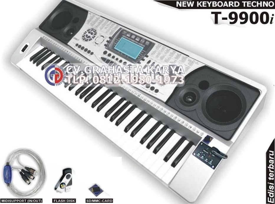 Jual KEYBOARD TECHNO (DISTRIBUTOR)