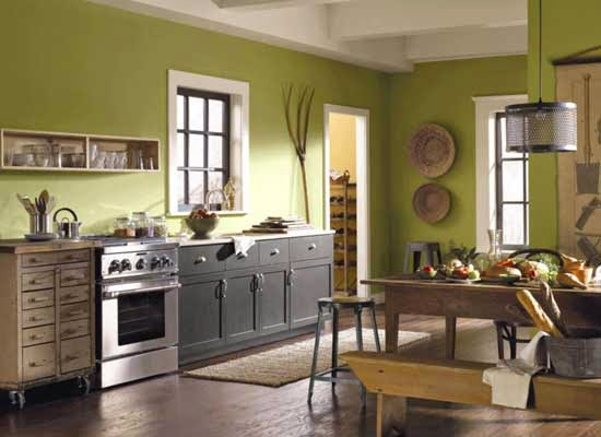 13 desain dapur minimalis warna hijau blog rumah minimalis
