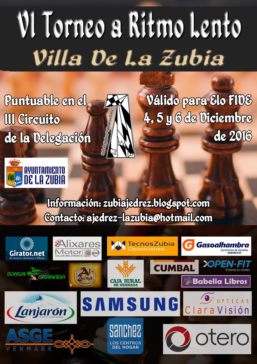 VI Torneo Villa de la Zubía