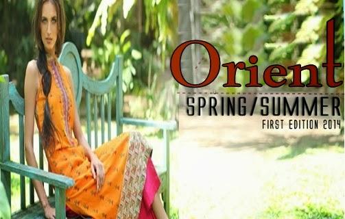 Orient Textiles Lawn 2014