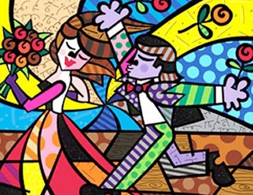 Cuadros modernos pinturas y dibujos pintura decorativa - Cuadros de parejas ...