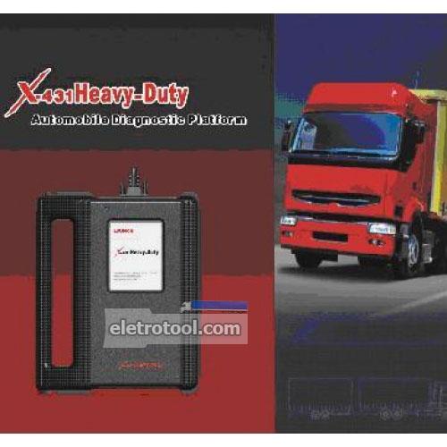 Launch x 431 herramienta de diagnóstico diesel