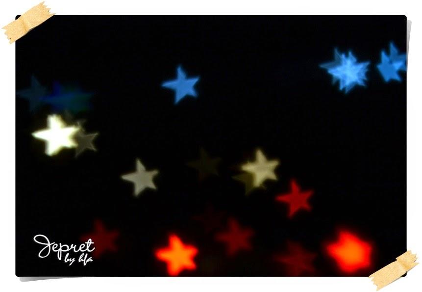 bintang tidak benbentuk bintang
