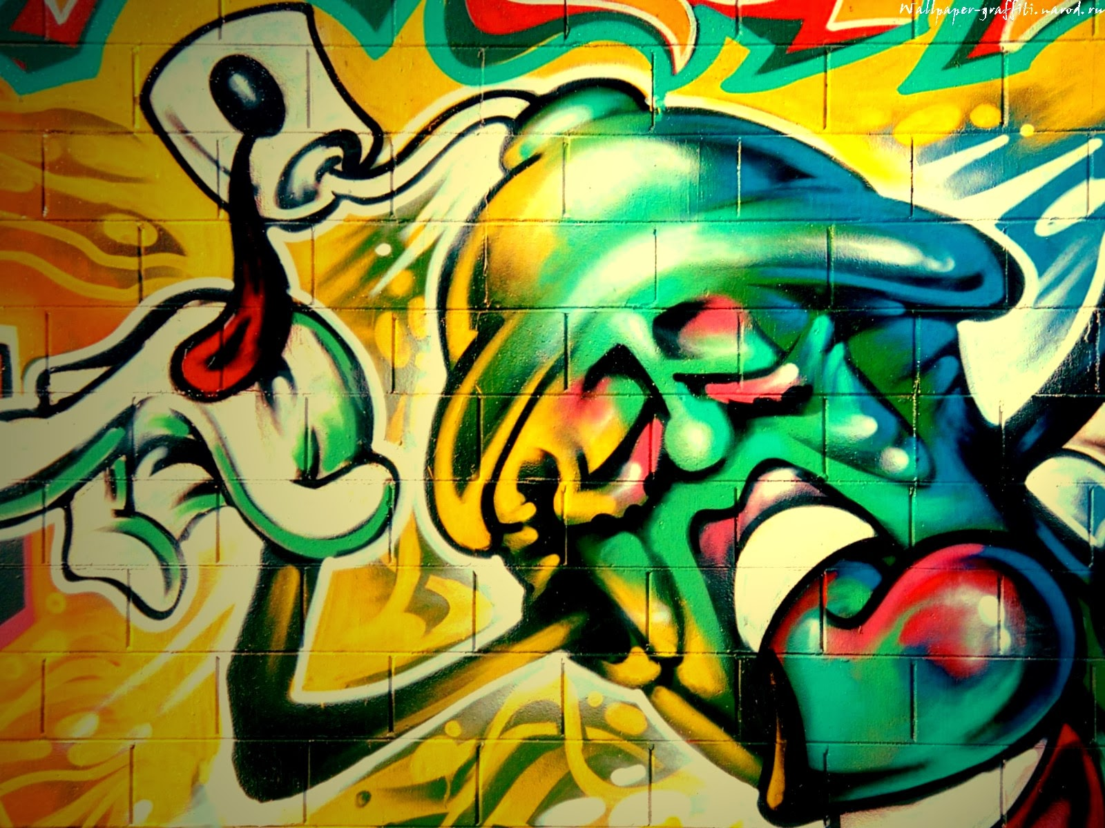 Graffiti wall graffiti wallpaper for Graffiti wallpaper