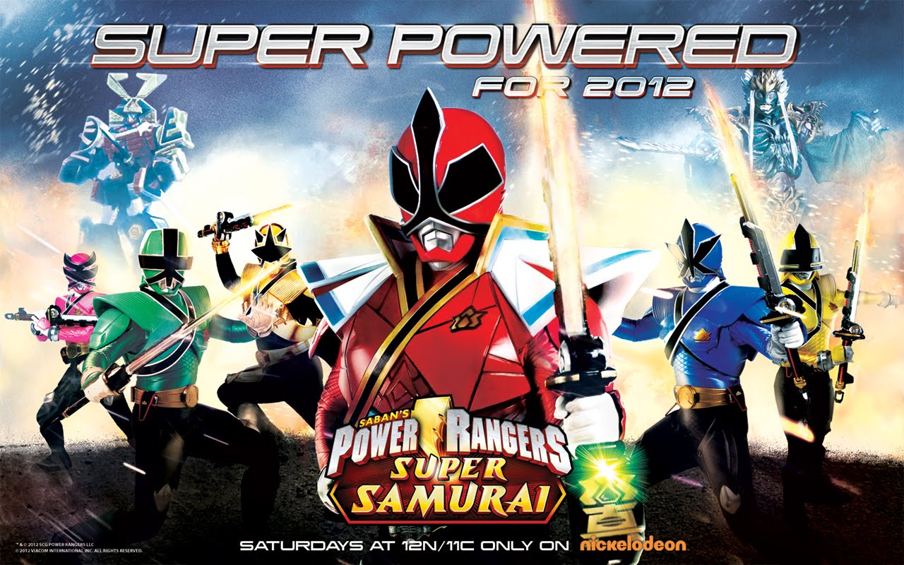 power rangers samural