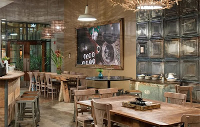 Illumination starbucks and led lighting for Interieur chic parisien